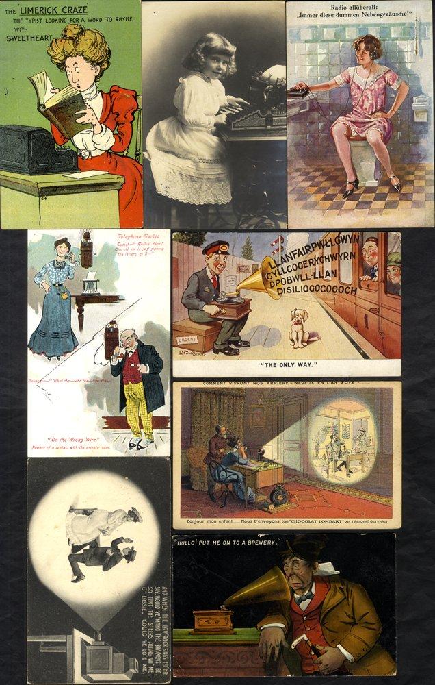 Lot 115 - subject cards  -  Corbitts Sale #165