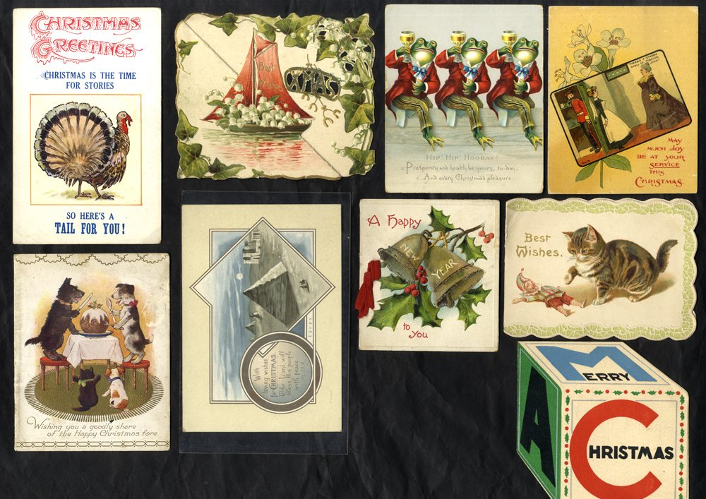 Lot 116 - subject cards  -  Corbitts Sale #165