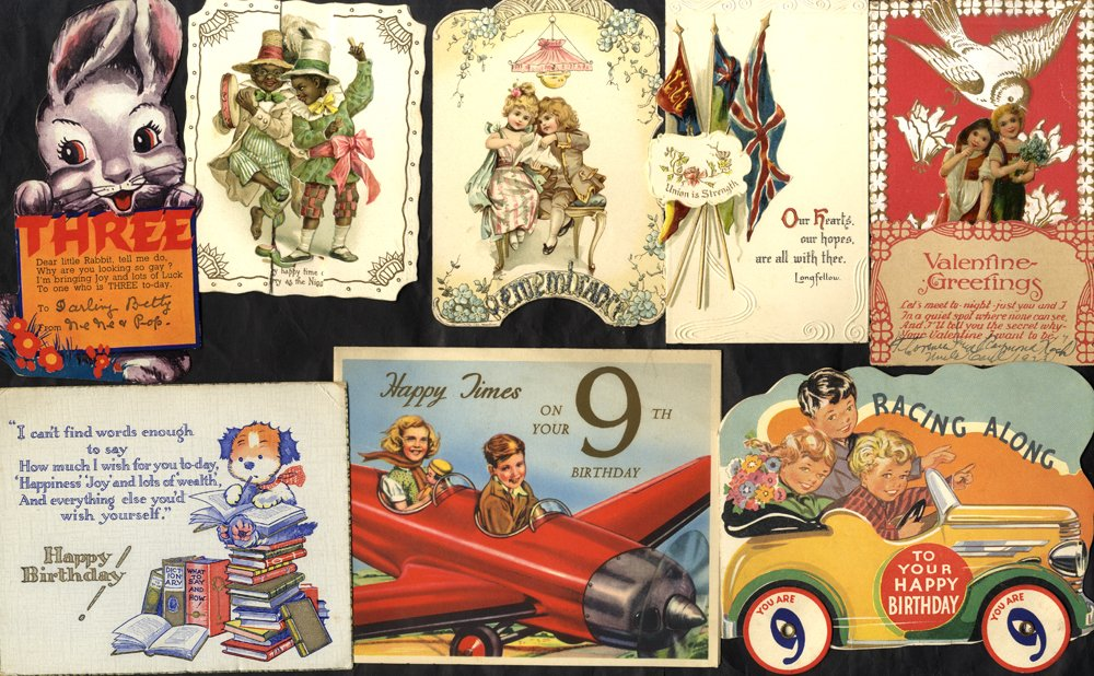 Lot 122 - subject cards  -  Corbitts Sale #165