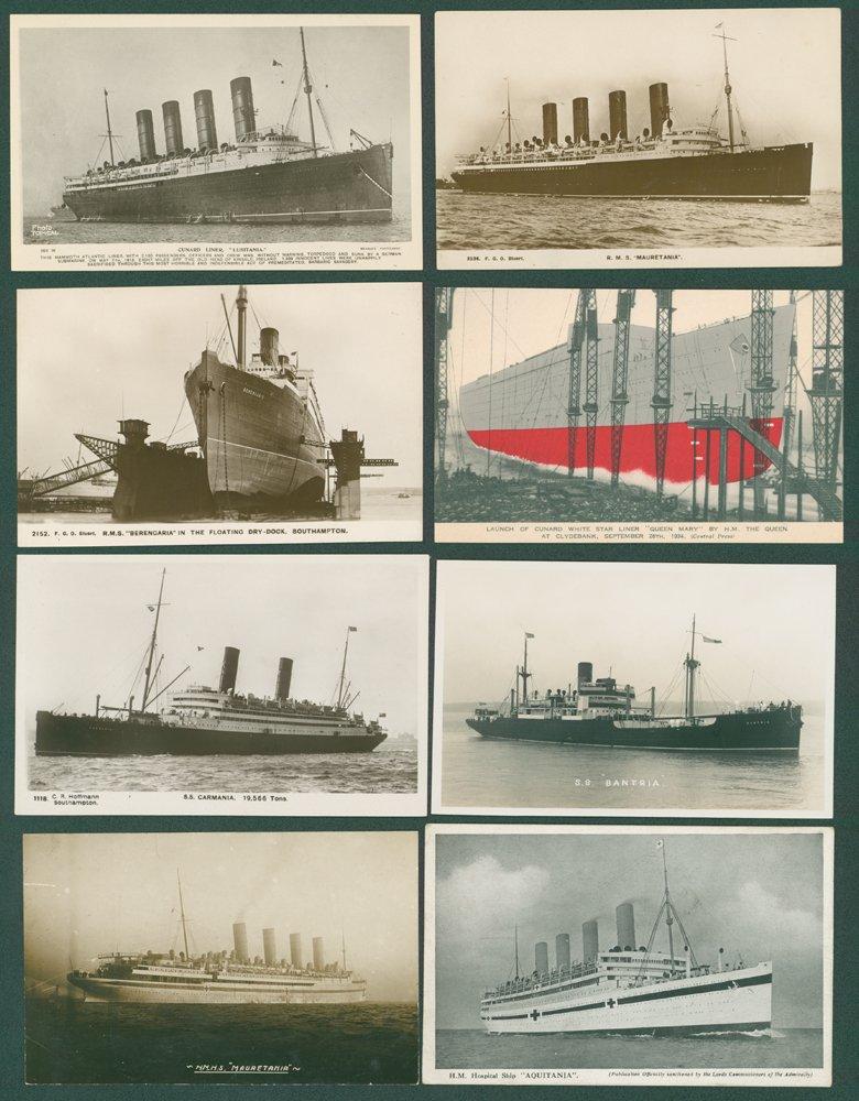 Lot 126 - subject cards  -  Corbitts Sale #165
