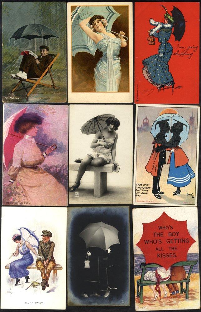 Lot 127 - subject cards  -  Corbitts Sale #165