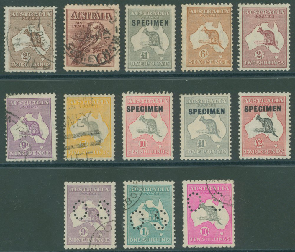 Lot 195 - Australia  -  Corbitts Sale #165