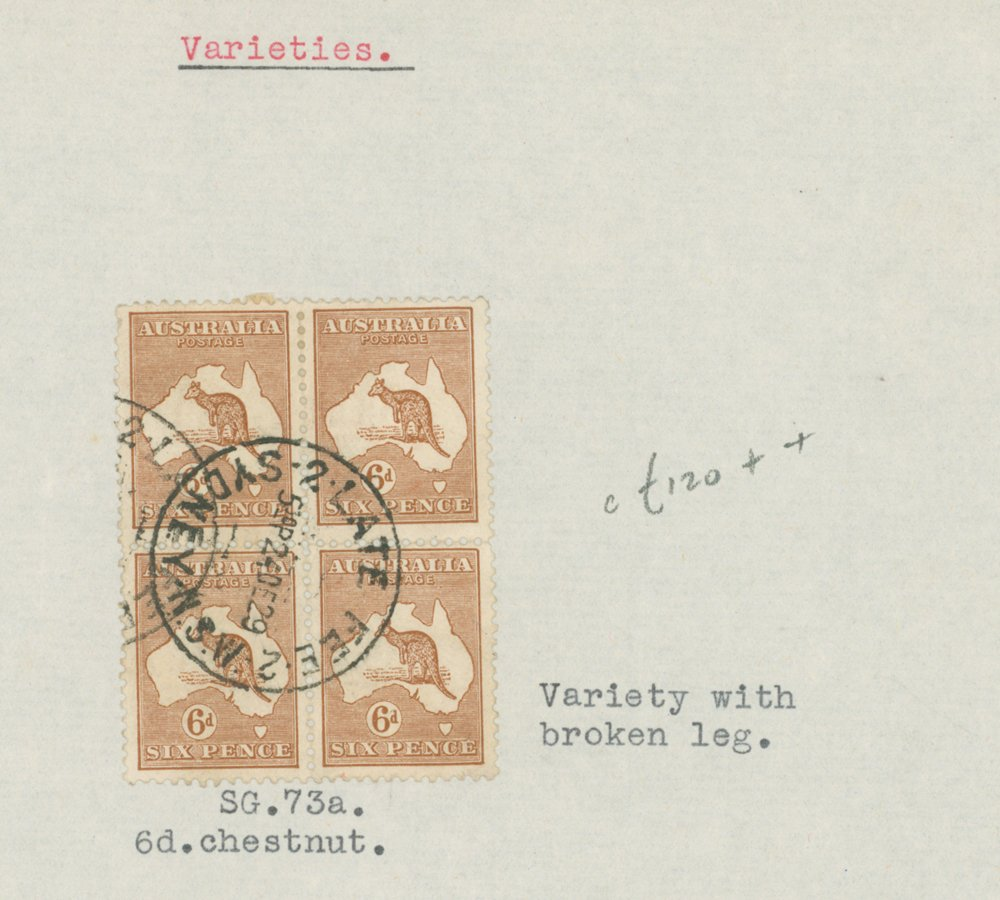 Lot 196 - Australia  -  Corbitts Sale #165