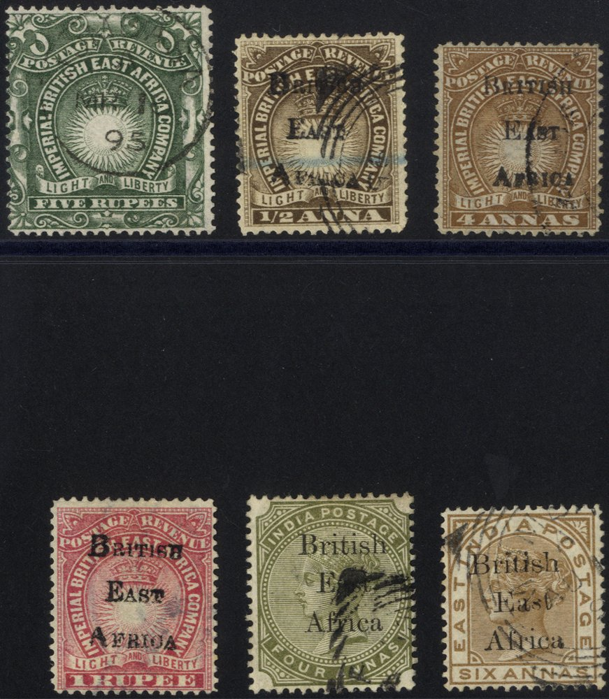 Lot 277 - british east africa  -  Corbitts Sale #165