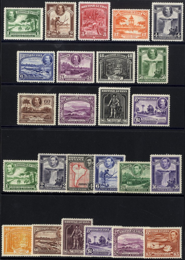 Lot 281 - british guiana  -  Corbitts Sale #165