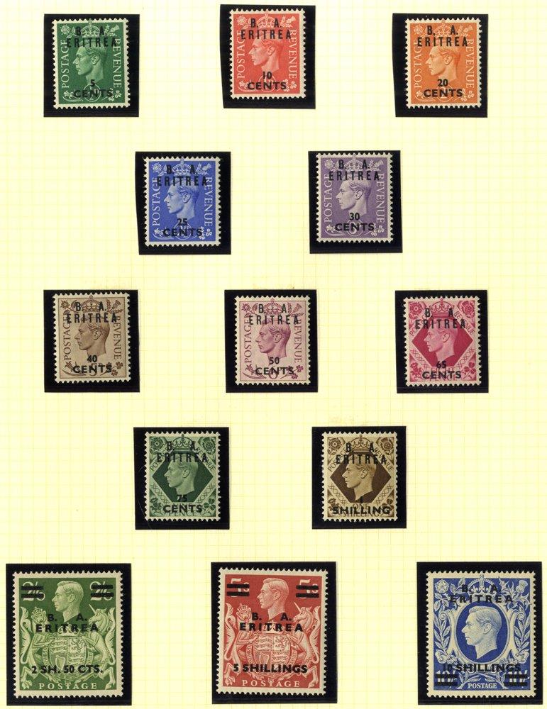 Lot 288 - british occupation of italian colonies  -  Corbitts Sale #165