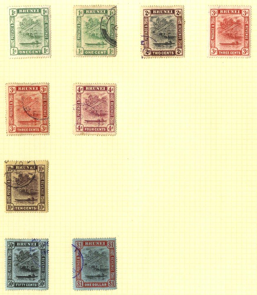 Lot 293 - brunei  -  Corbitts Sale #165