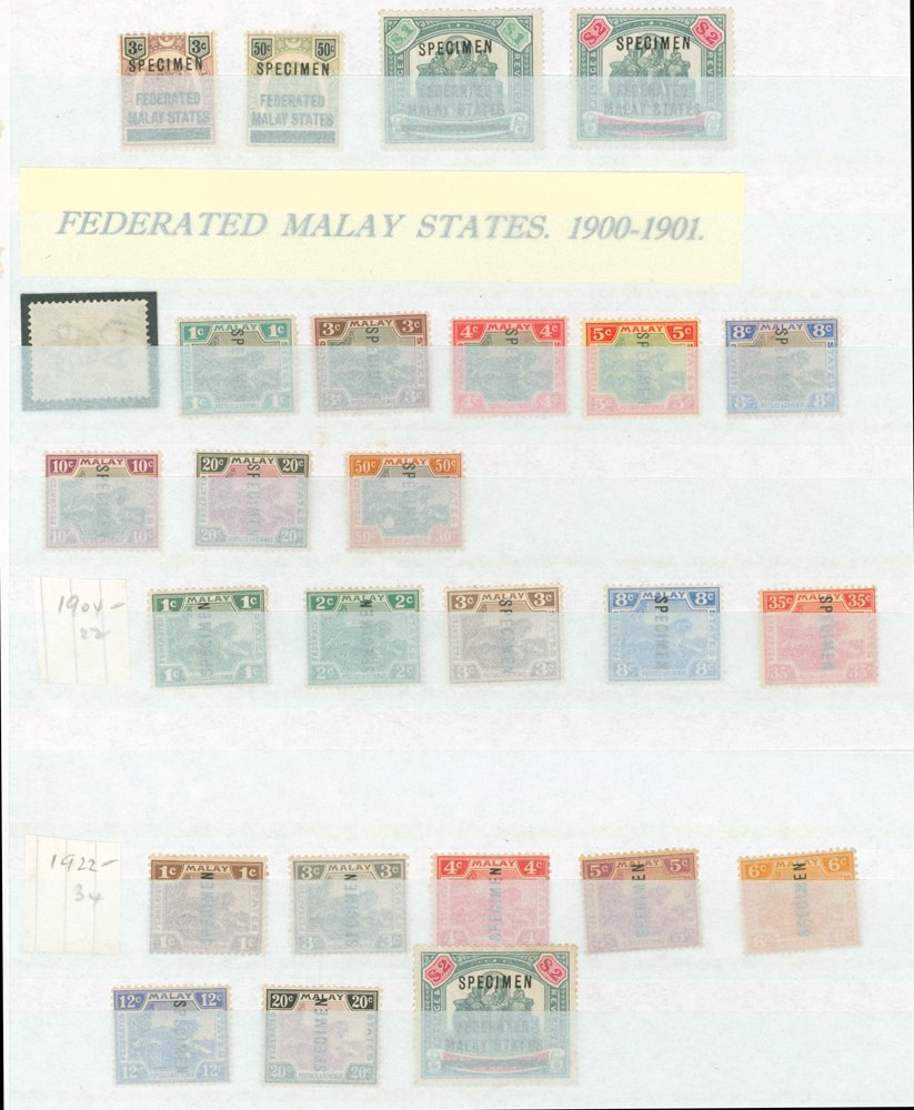 Lot 768 - malaya - federated states  -  Corbitts Sale #165