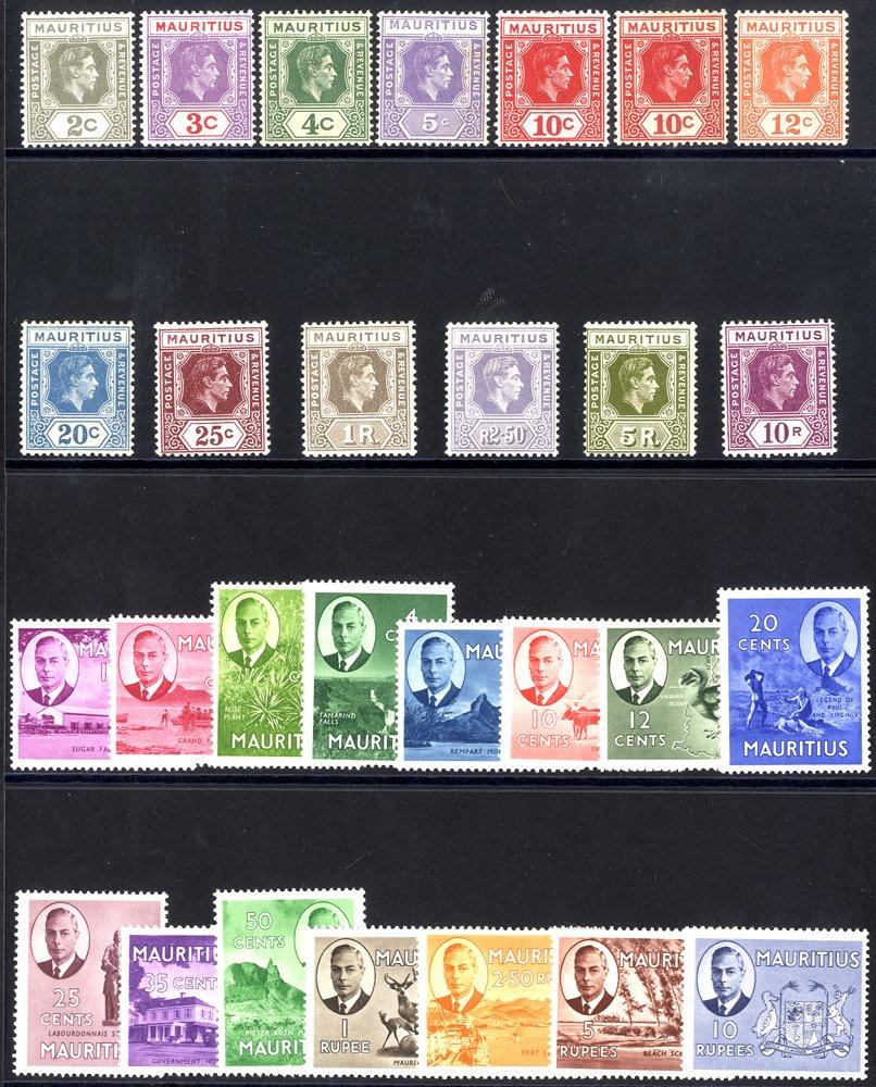 Lot 789 - Mauritius  -  Corbitts Sale #165