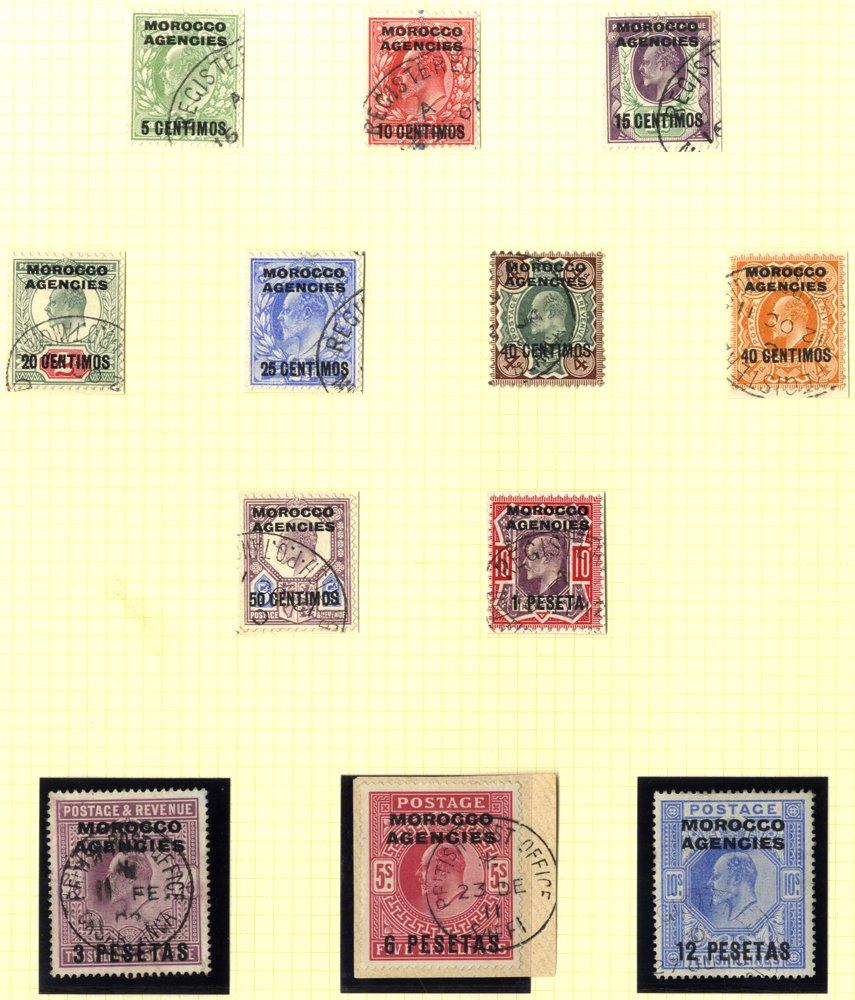 Lot 800 - morocco agencies  -  Corbitts Sale #165