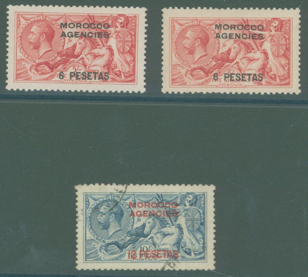 Lot 803 - morocco agencies  -  Corbitts Sale #165