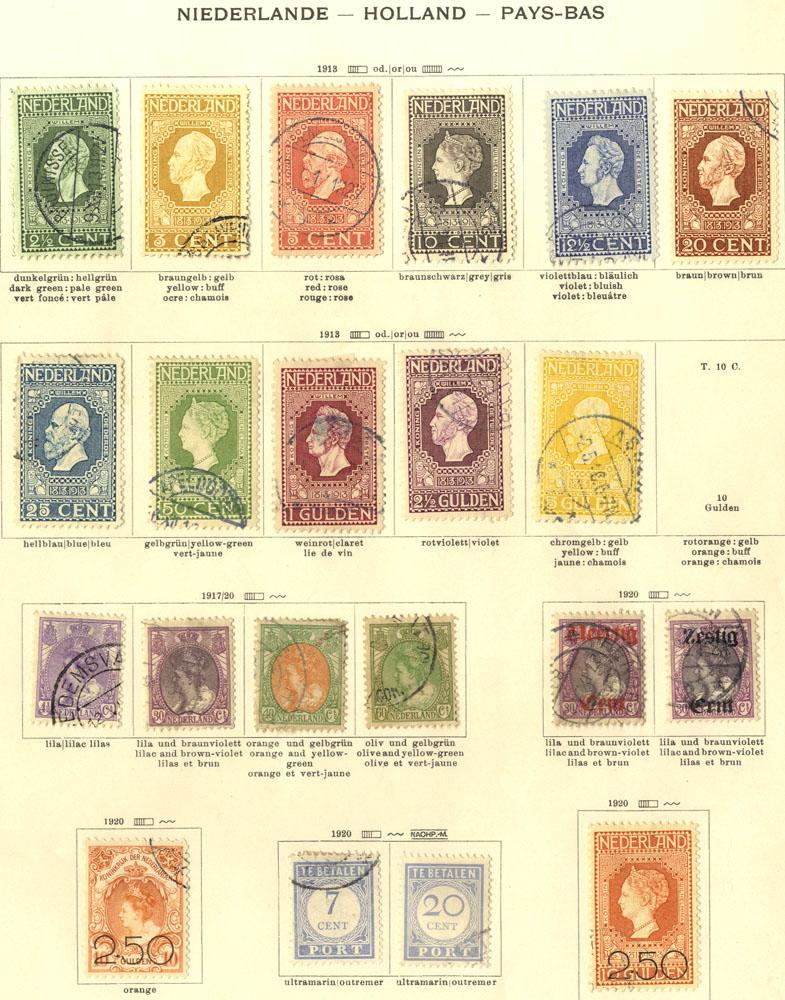 Lot 815 - Netherlands  -  Corbitts Sale #165