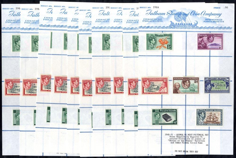 Lot 900 - pitcairn islands  -  Corbitts Sale #165