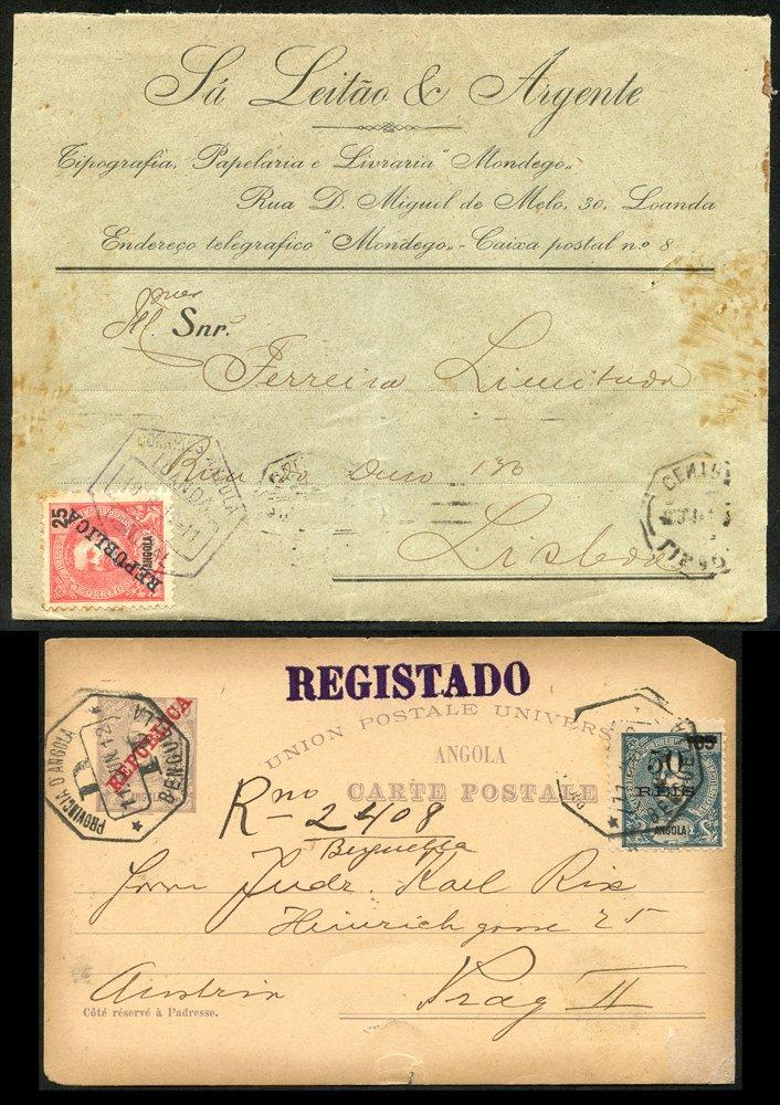 Lot 914 - portuguese colonies  -  Corbitts Sale #165