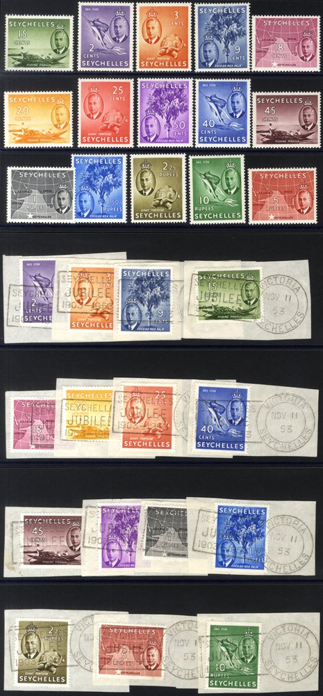 Lot 969 - seychelles  -  Corbitts Sale #165