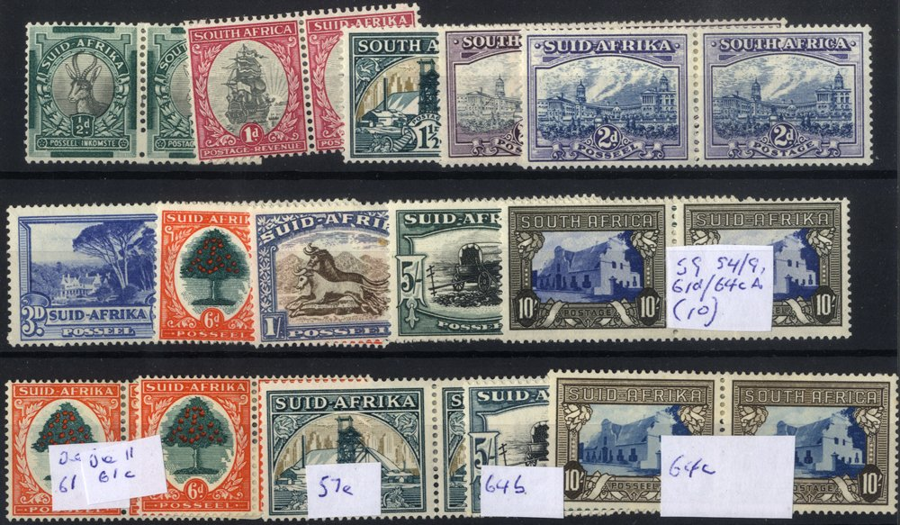 Lot 987 - south africa  -  Corbitts Sale #165