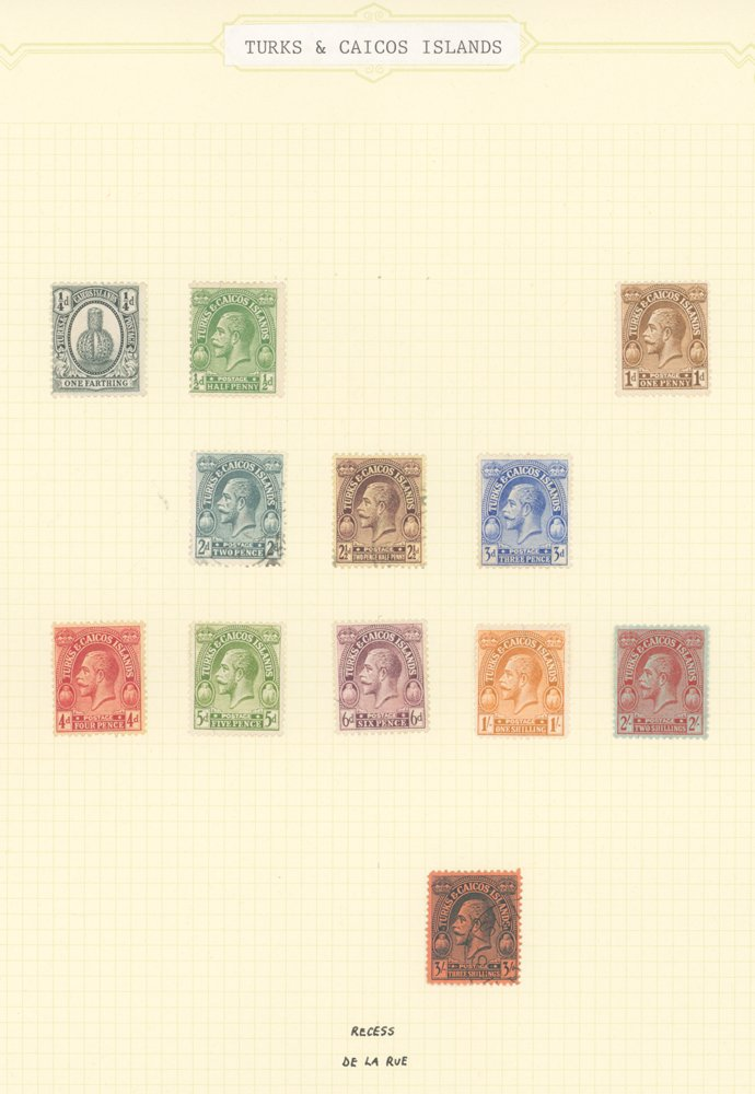 Lot 1088 - turks and caicos islands  -  Corbitts Sale #165