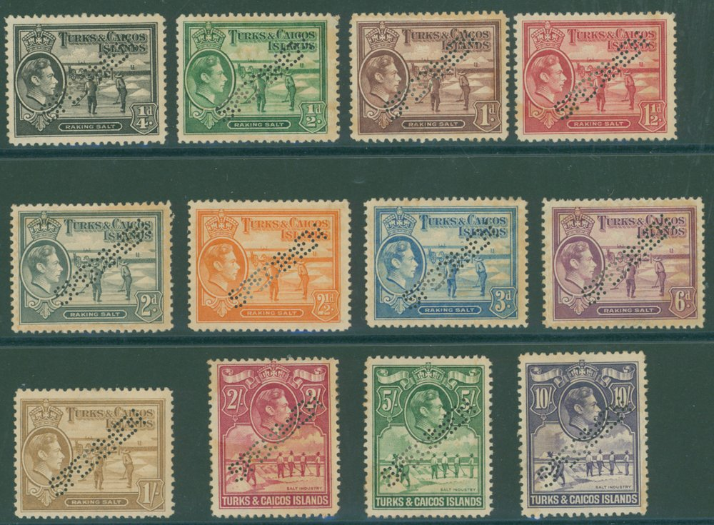 Lot 1089 - turks and caicos islands  -  Corbitts Sale #165