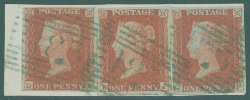 Lot 1207 - 1841 penny red  -  Corbitts Sale #165