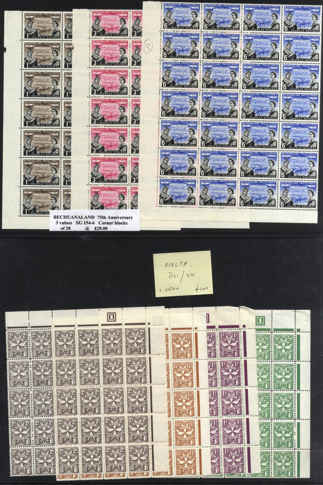 Lot 127 - MIXED LOTS & ACCUMULATIONS  -  Corbitts Sale #166