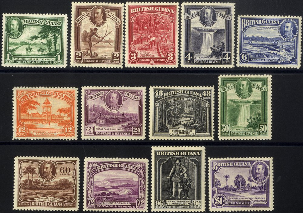 Lot 337 - british guiana  -  Corbitts Sale #166