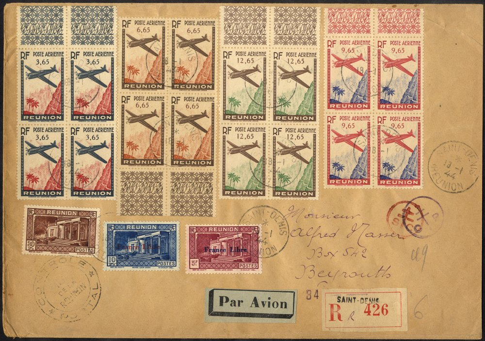 Lot 504 - french colonies  -  Corbitts Sale #166