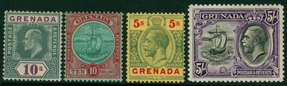 Lot 599 - Grenada  -  Corbitts Sale #166