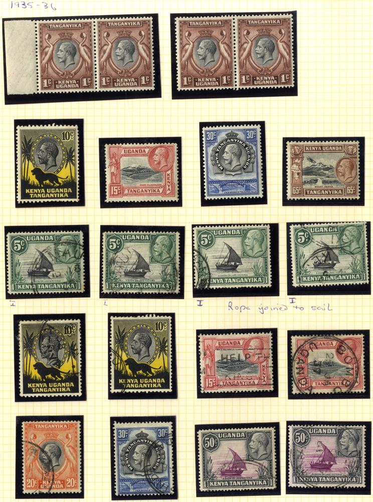Lot 707 - Kenya, Uganda and Tanganyika  -  Corbitts Sale #166