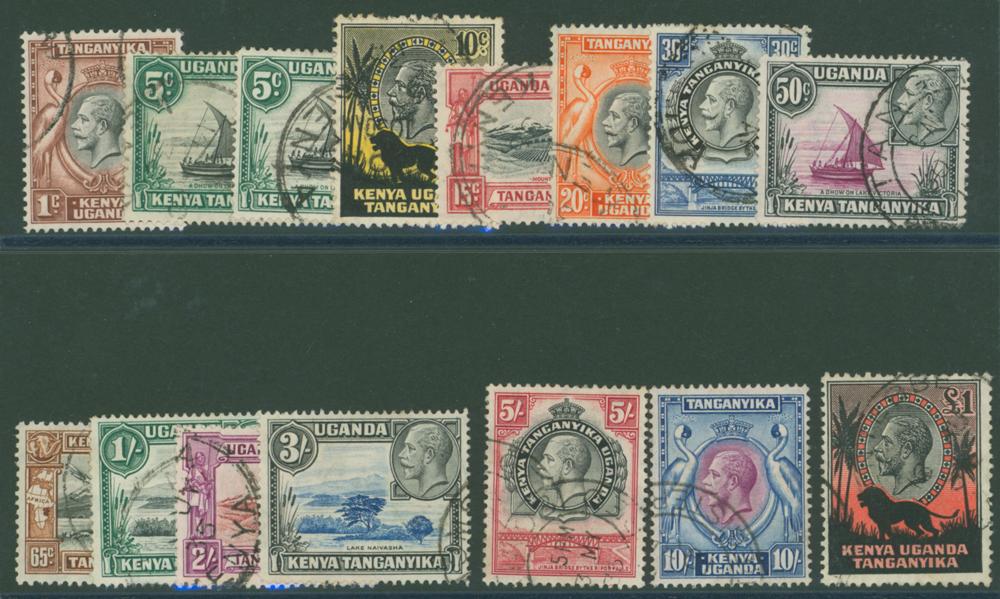 Lot 710 - Kenya, Uganda and Tanganyika  -  Corbitts Sale #166