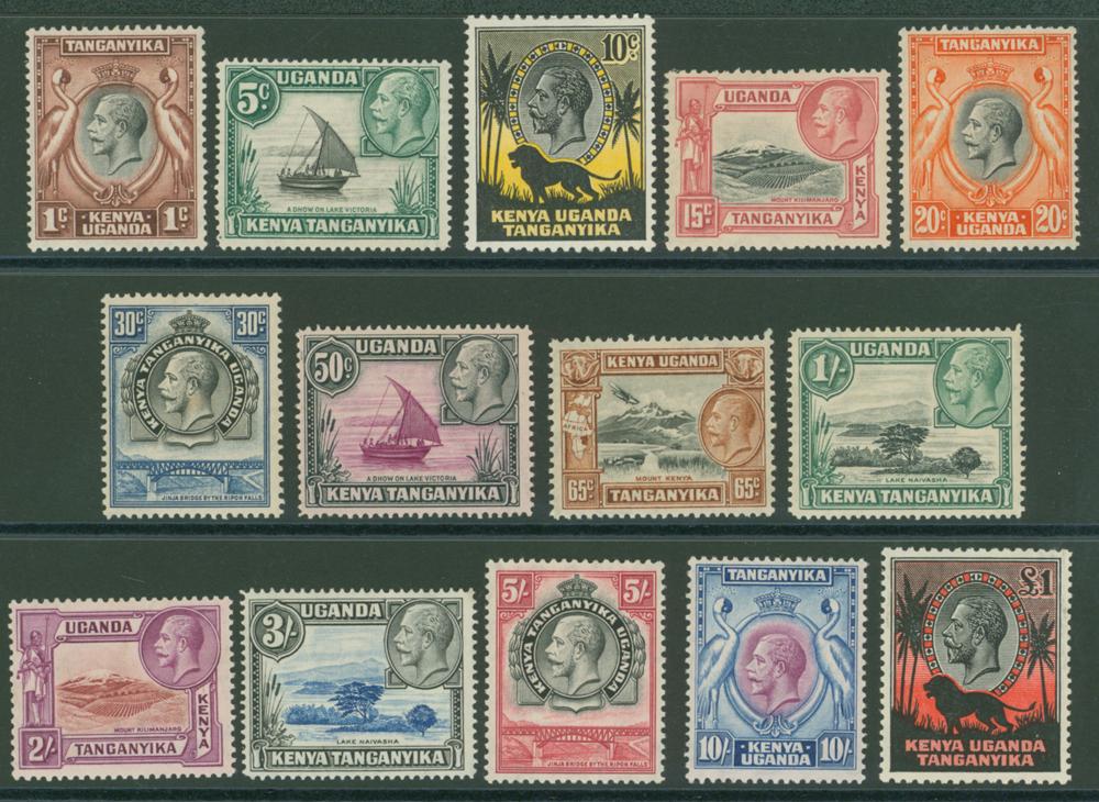 Lot 712 - Kenya, Uganda and Tanganyika  -  Corbitts Sale #166
