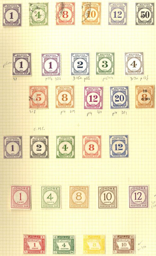 Lot 741 - malayan states  -  Corbitts Sale #166