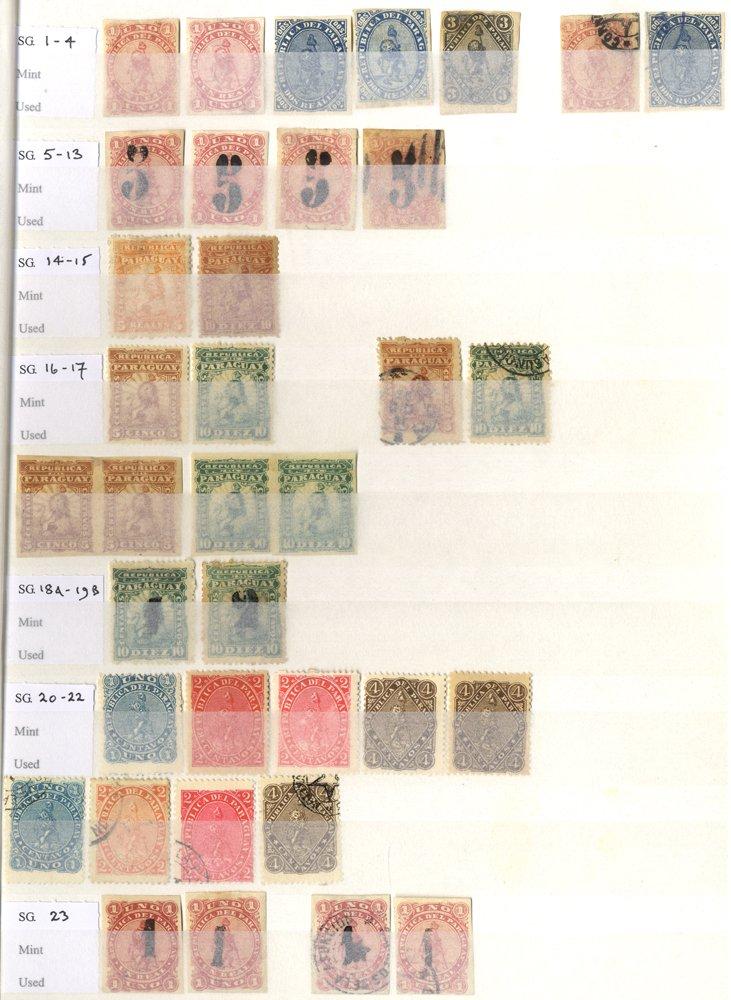 Lot 835 - Paraguay  -  Corbitts Sale #166