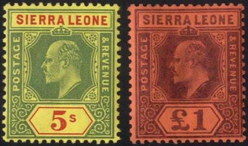Lot 961 - sierra leone  -  Corbitts Sale #166