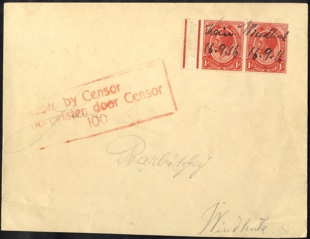 Lot 992 - south west africa  -  Corbitts Sale #166
