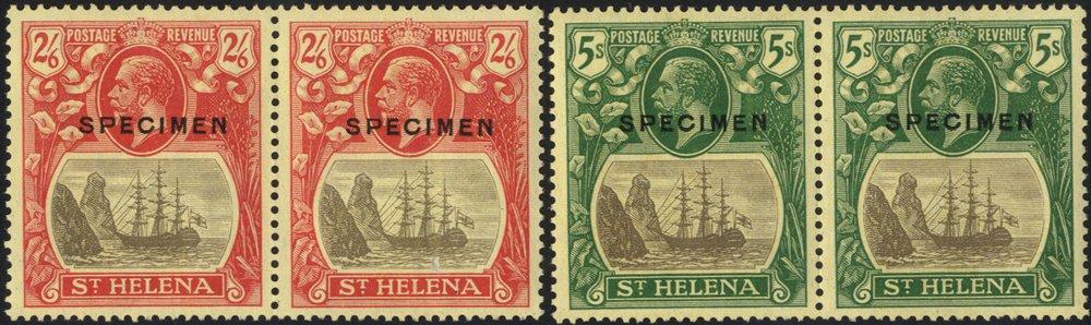 Lot 1011 - st. helena  -  Corbitts Sale #166