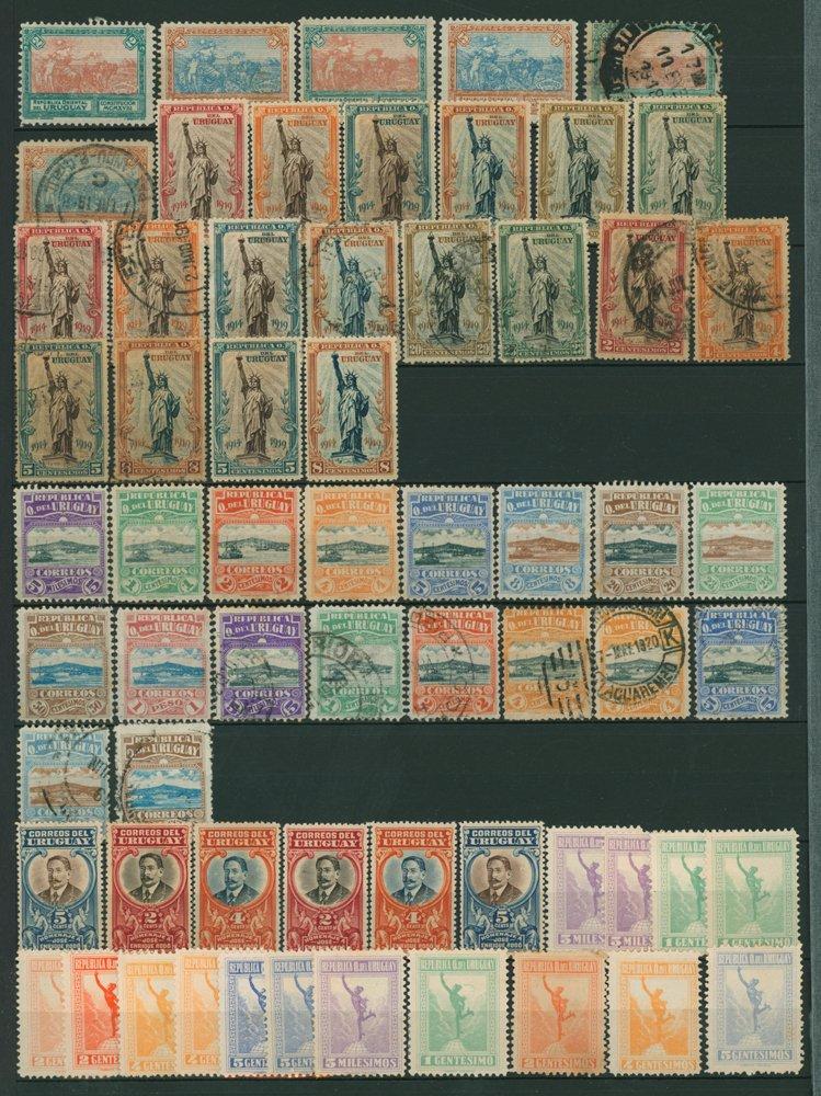 Lot 1082 - Uruguay  -  Corbitts Sale #166