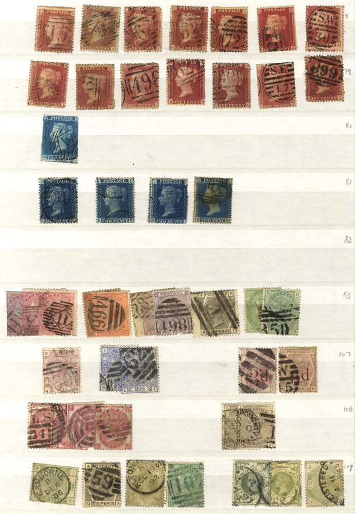 Lot 1114 - Great Britain COLLECTIONS & ACCUMULATIONS -  Corbitts Sale #166