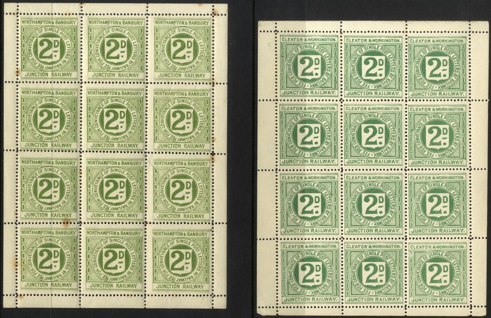 Lot 1203 - Great Britain postal history -  Corbitts Sale #166