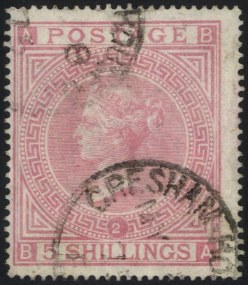 Lot 1261 - Great Britain surface printed -  Corbitts Sale #166