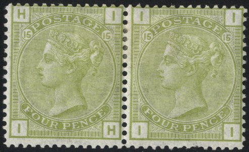 Lot 1268 - Great Britain surface printed -  Corbitts Sale #166