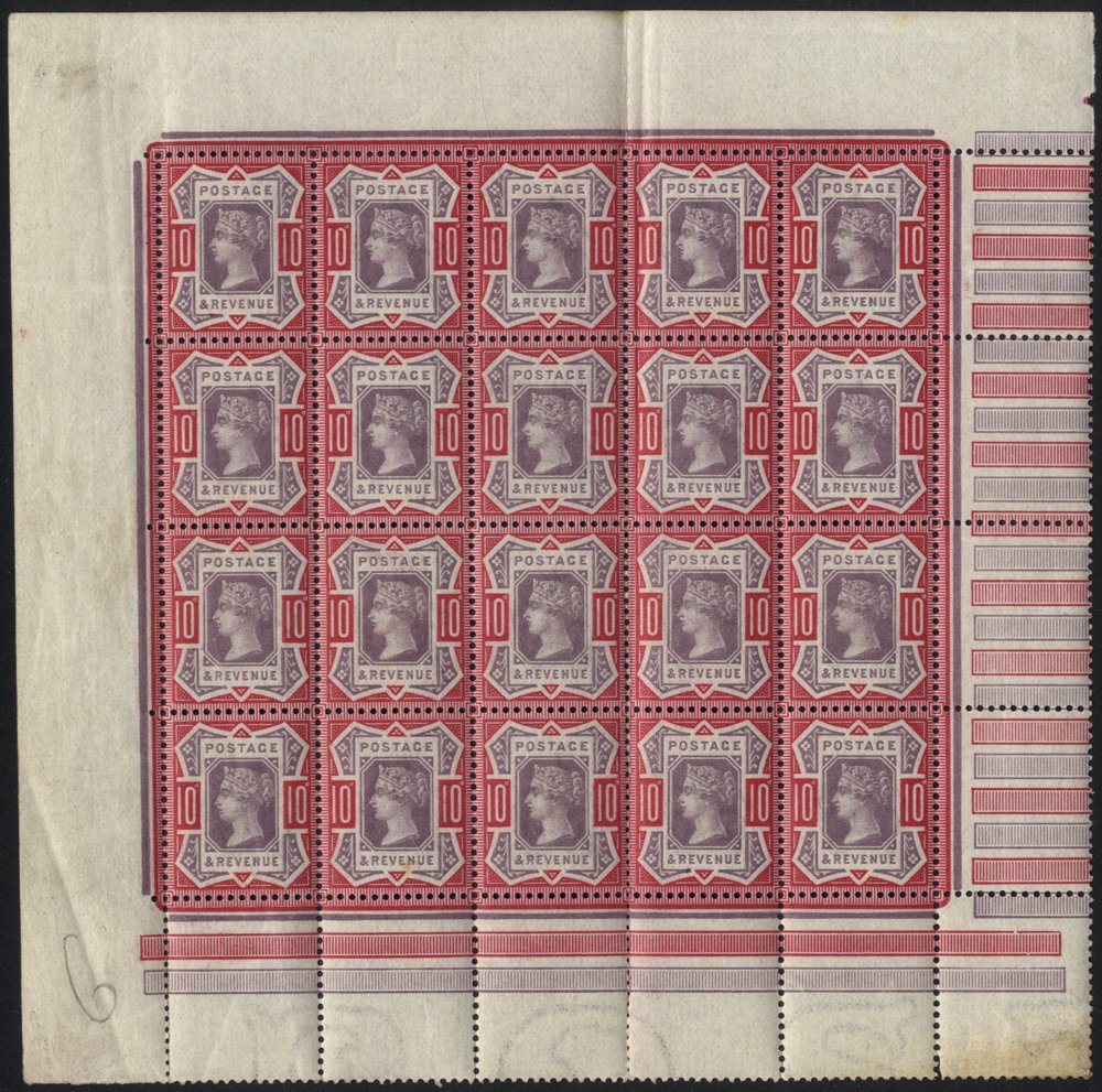 Lot 1274 - Great Britain surface printed -  Corbitts Sale #166