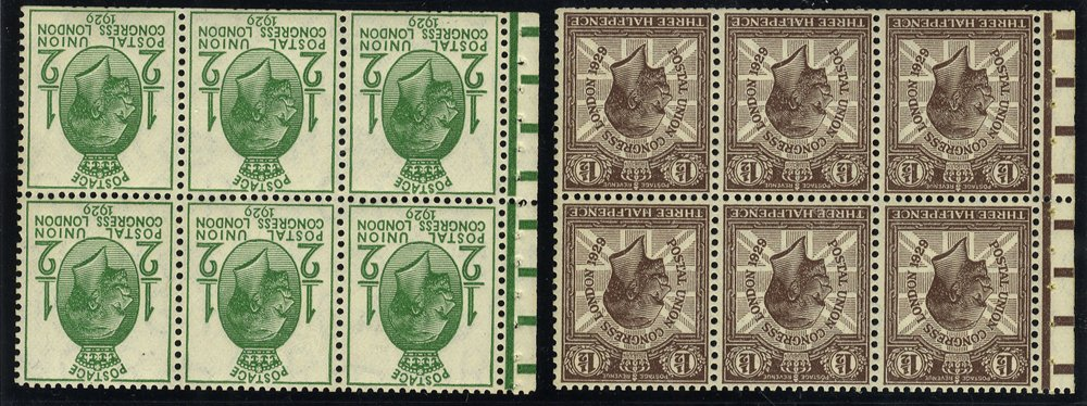 1929 PUC booklet panes