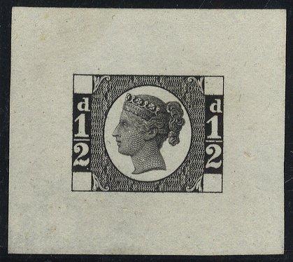 1870 ½d Die Proof SGDP62b