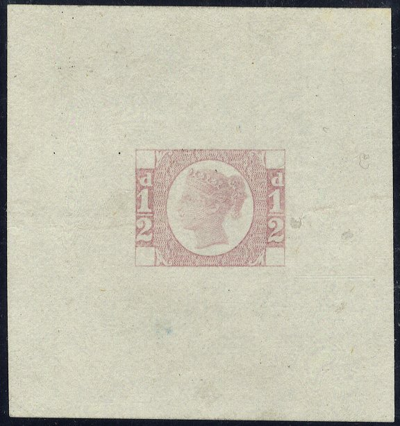 1870 ½ Die Proof SGDP62b