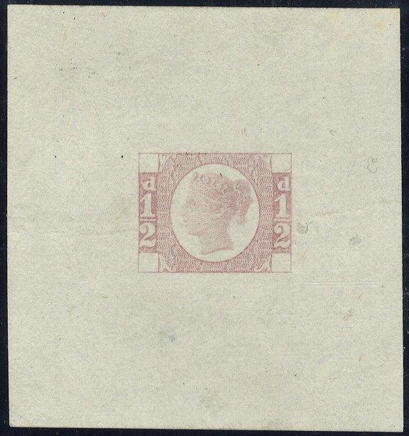 1870 ½ Die Proof SGDP62b