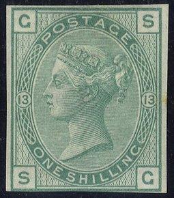 1876 1s Imprimatur SG150