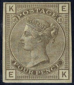 1882 4d Imprimatur SG160