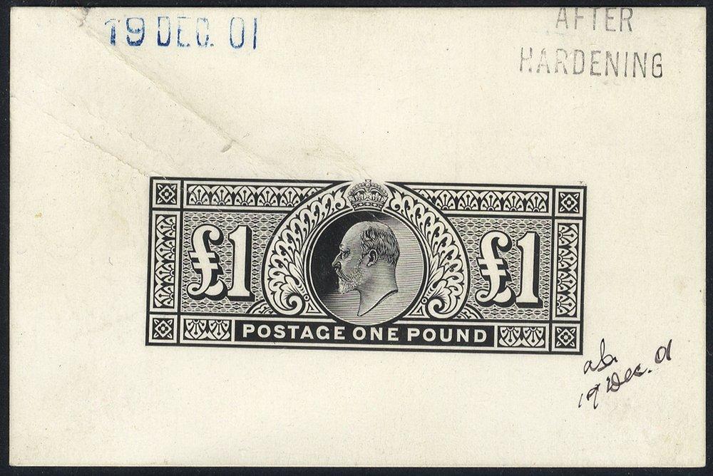 1902 £1 Die Proof