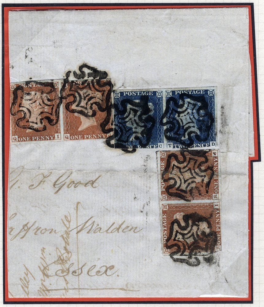 1840 Twopence Pl.1 TC-TD pair