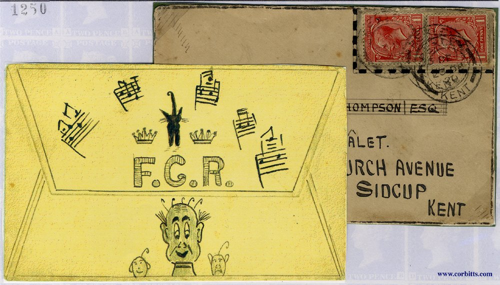 1920 cover illustrated with musical notes & probably contained a Christmas card